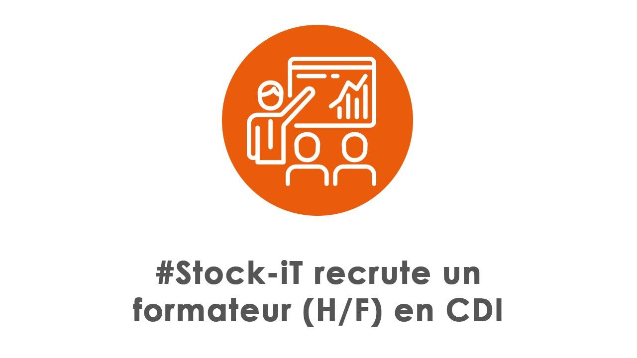Stock-iT recrute un formateur (H/F) en CDI